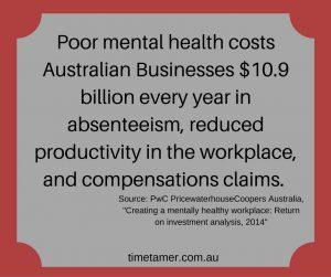 Stress costs businesses billions