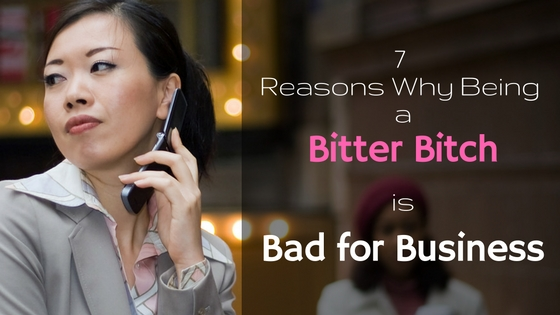 Business Bitch Bad For Business - Stress Management
