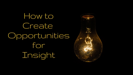 Opportunities for Insight